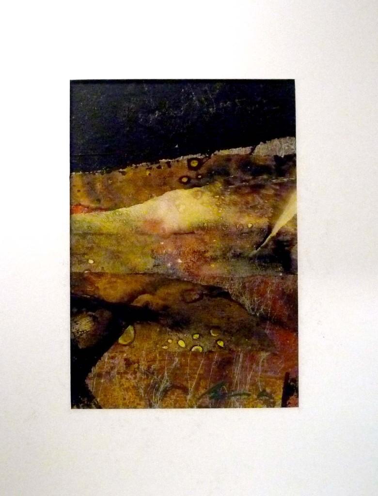 "Strata - 5x7"" collage - Lyn belisle"