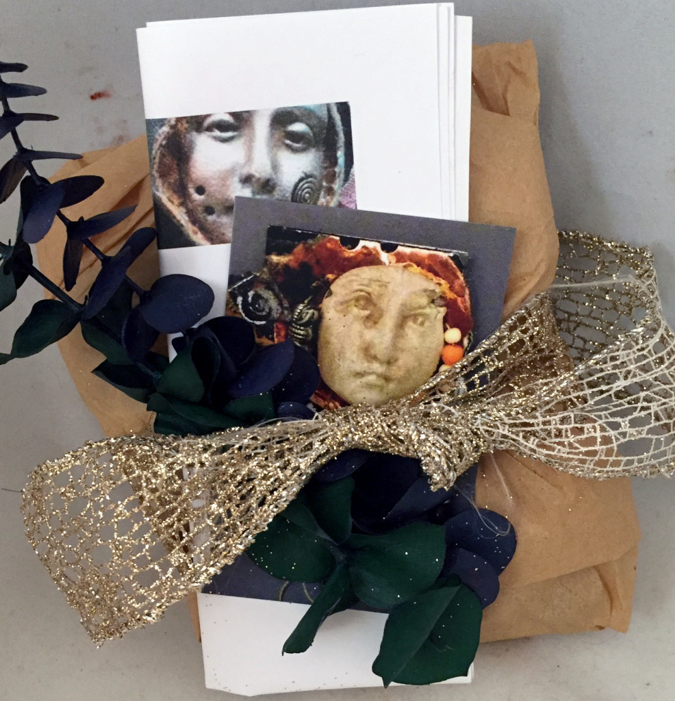 A package of Face Shards from my Estsy show ready to ship to California