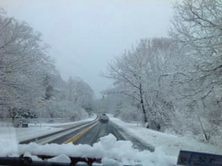 Driving to Gloucester from Salem on Sunday morning