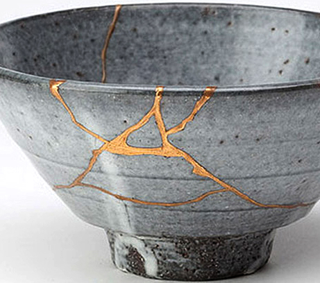 The Kintsugi process usually results in something more beautiful than the original.
