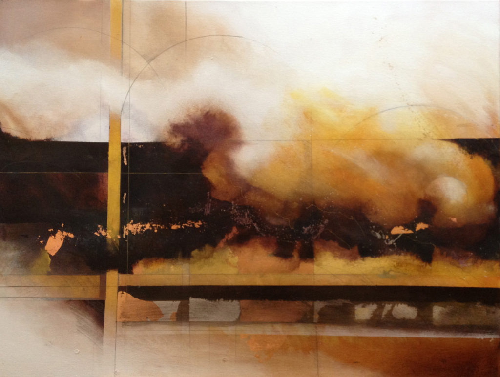 Lyn Belisle After the Fire Acrylic on Canvas