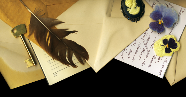 romance of writing letters
